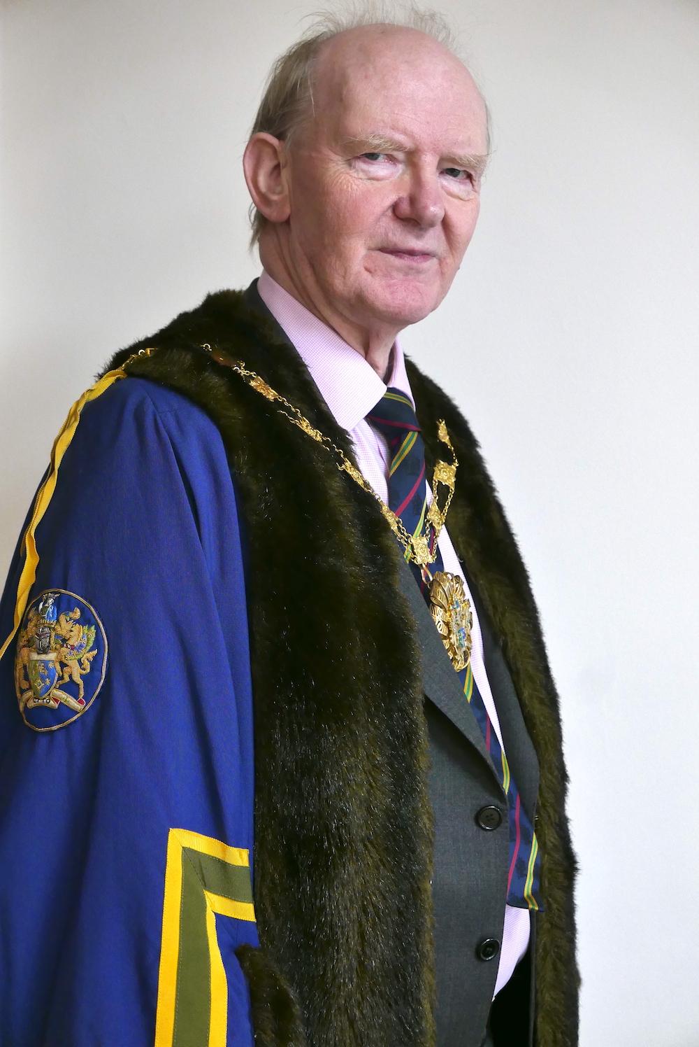 Photo of Mark Holford, The Master